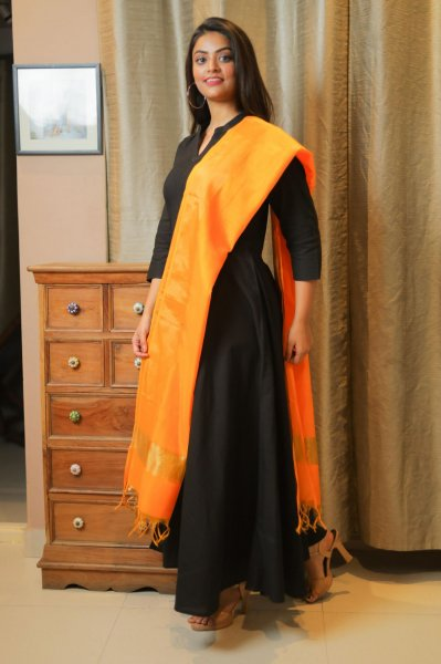 Radiant GoldenYellow Chanderi Dupatta